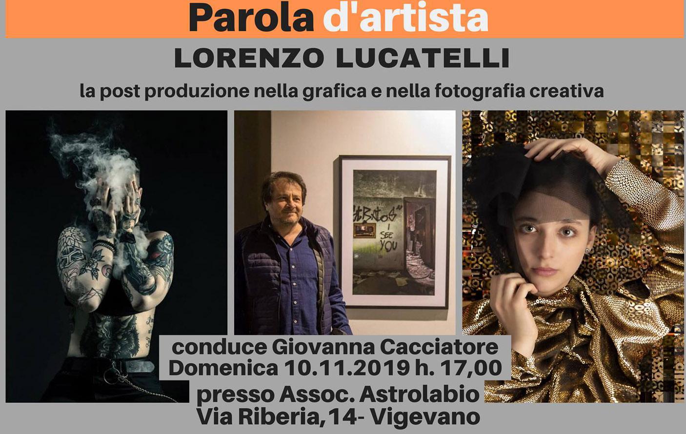 Lorenzo Lucatelli: la post produzione nella grafica e nella fotografia creativa
