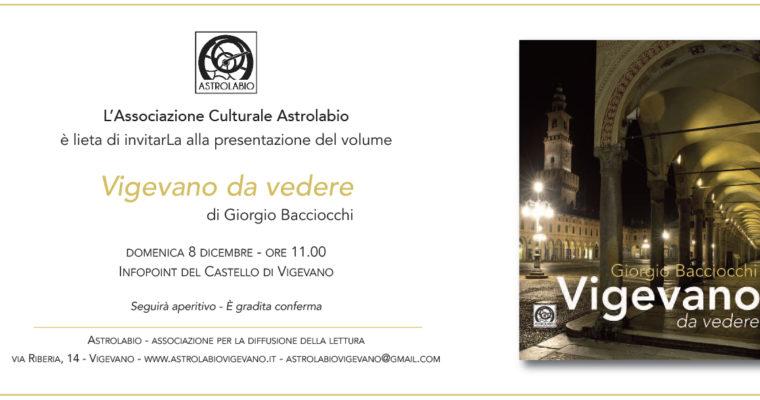 Vigevano da vedere – Presentazione del volume di Giorgio Bacciocchi