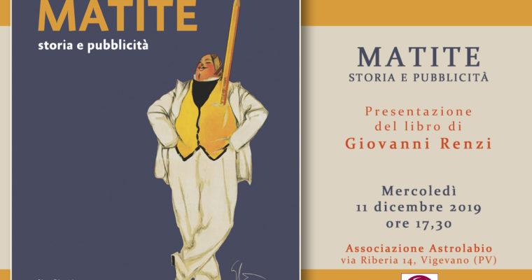 MATITE: storia e pubblicità – con l'autore Giovanni Renzi