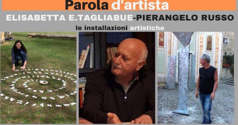Paola d'artista: le installazioni artistiche
