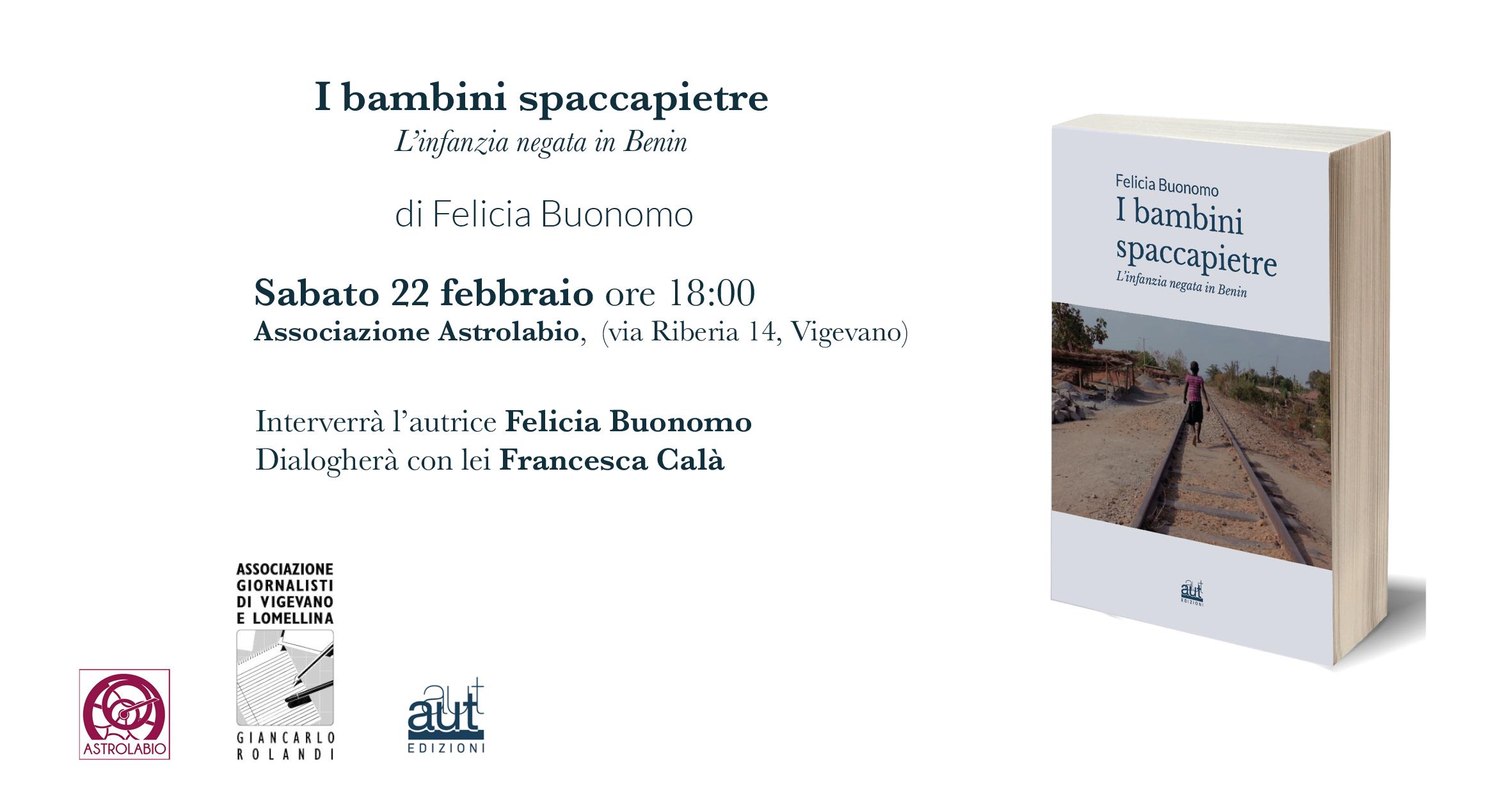 """Presentazione del libro """"I bambini spaccapietre"""" di Felicia Buonomo"""