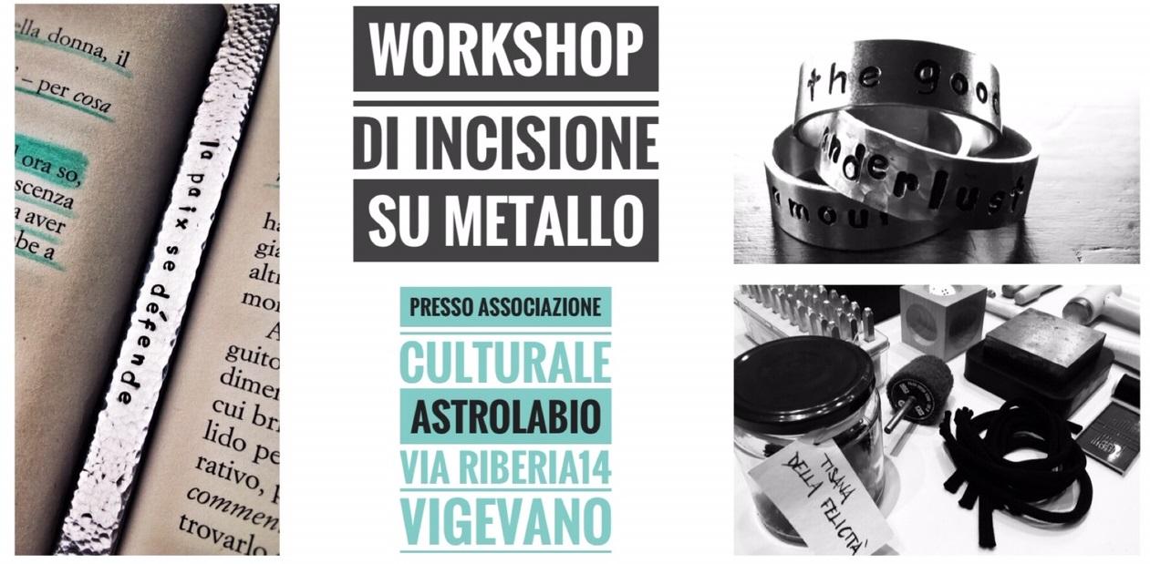 Sospeso: Workshop di incisione su metallo – con Erica Buscaglia