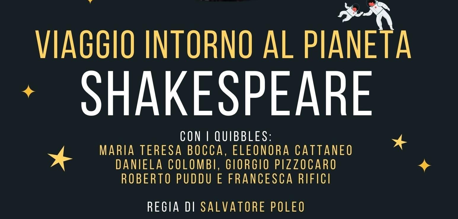 Viaggio intorno al pianeta Shakespeare – Reading teatrale